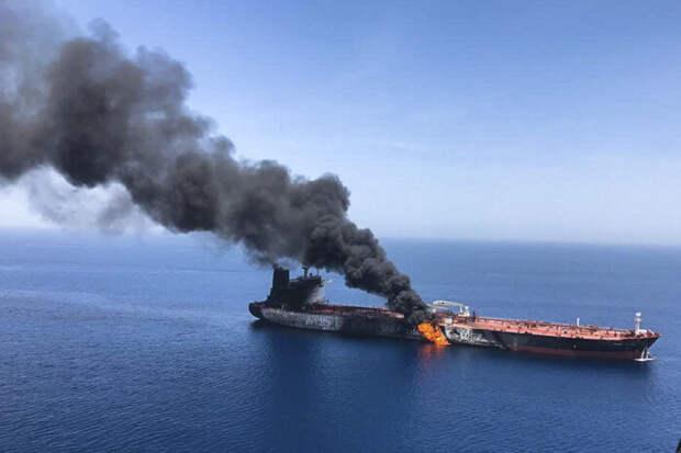 Израильский БПЛА атаковал иранский танкер, несмотря на российские ПВО и РЭБ