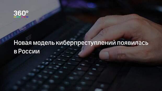 Новая модель киберпреступлений появилась в России