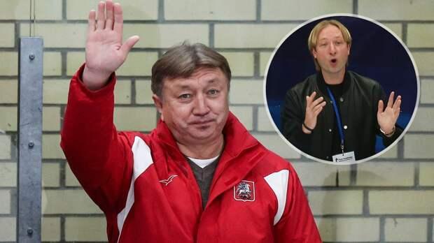 Плющенко ответил на критику директора «Самбо-70»: «Говорят, скоро его отправят на заслуженную пенсию»