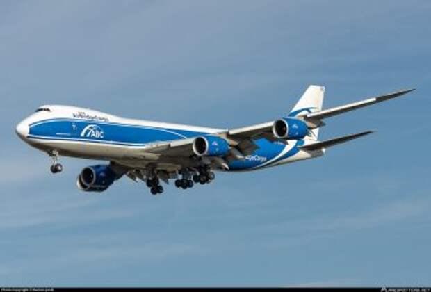 Boeing 747-8HVF авиакомпании AirBridgeCargo
