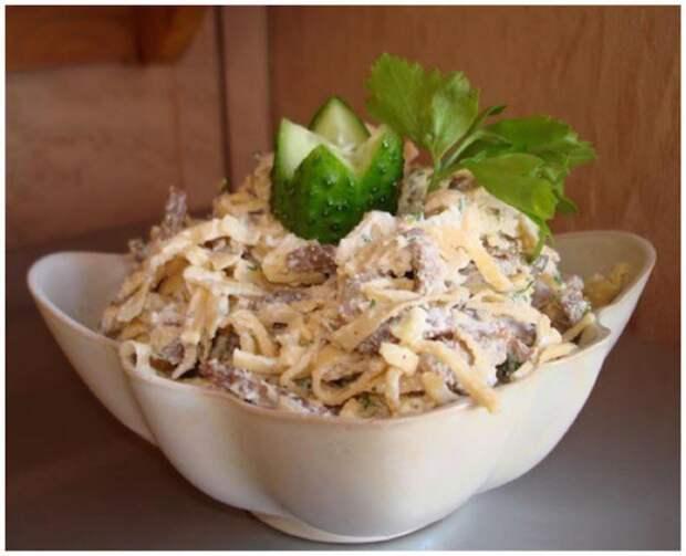Блинные салаты — оригинальные рецепты к вашему столу в будни и праздники
