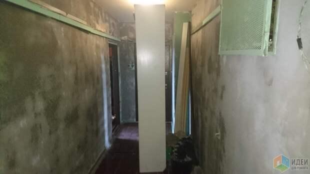 Ремонт общего коридора.