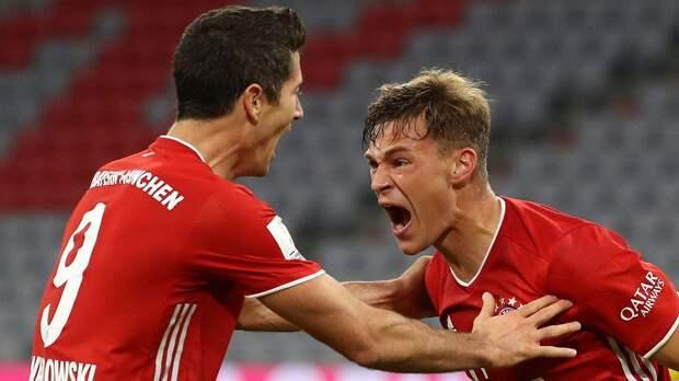 Киммих проводит 250-й матч за «Баварию»