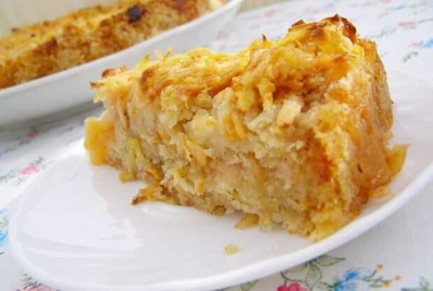 Диетический пирог без пшеничной муки