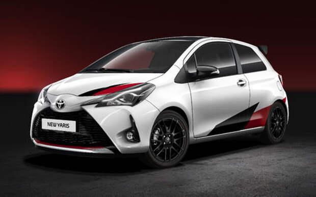 Toyota показала хот-хэтч Yaris в раллийном стиле