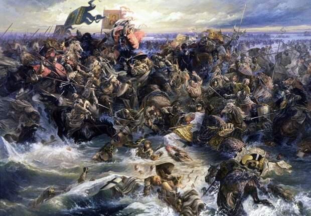 Беспредельное мужество Александра Невского сочеталось с мудростью стратега и политика