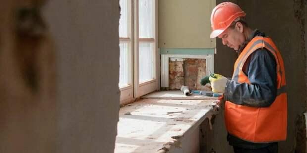 На территории больницы Вересаева началась подготовка к ремонту корпуса
