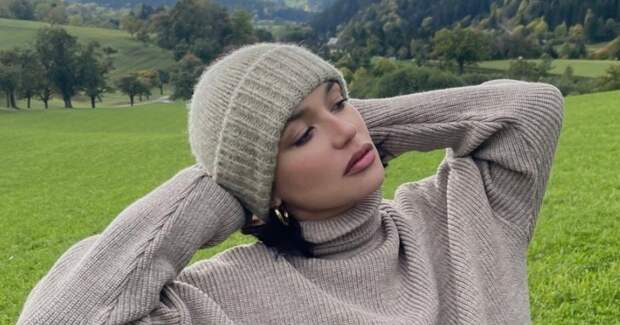 Беременная и счастливая! Ольга Серябкина отдыхает с любимым в Австрии