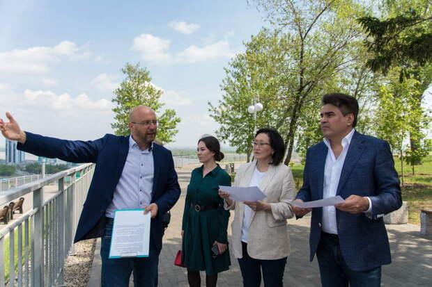 В Барнауле партия «Новые люди» предложила направить больше средств на благоустройство