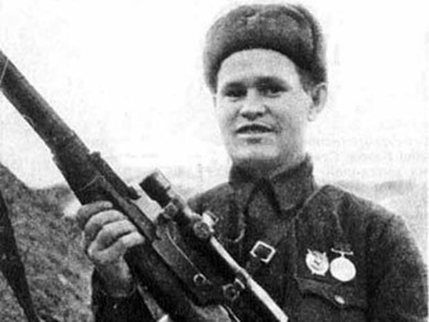 В кого не стрелял лучший снайпер Сталинграда Василий Зайцев