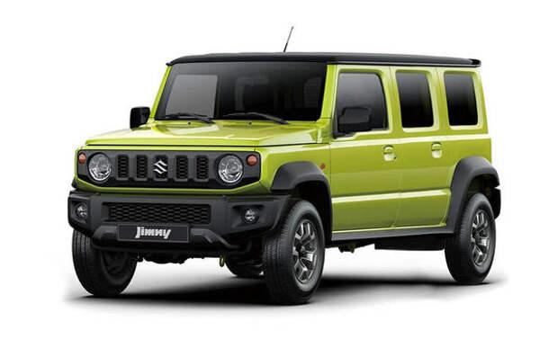 Пятидверку Suzuki Jimny представят в 2022 году