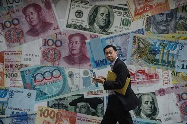 """Китай скупает гособлигации США как """"не в себя"""""""