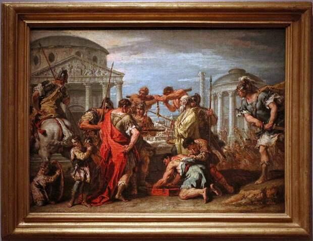 Золото галлов: как Цезарь присвоил неприкосновенный запас золота.