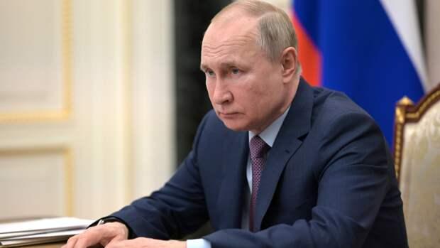 Путин рассказал об ощущениях после второй дозы вакцины