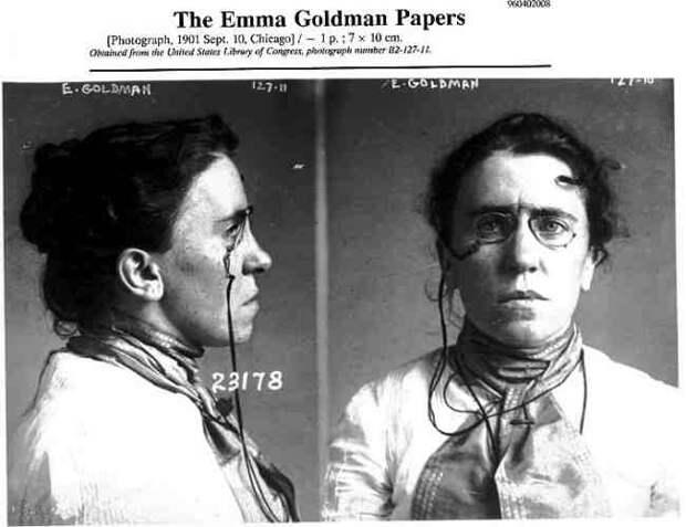 Красная Эмма - самая опасная анархистка в истории Америки