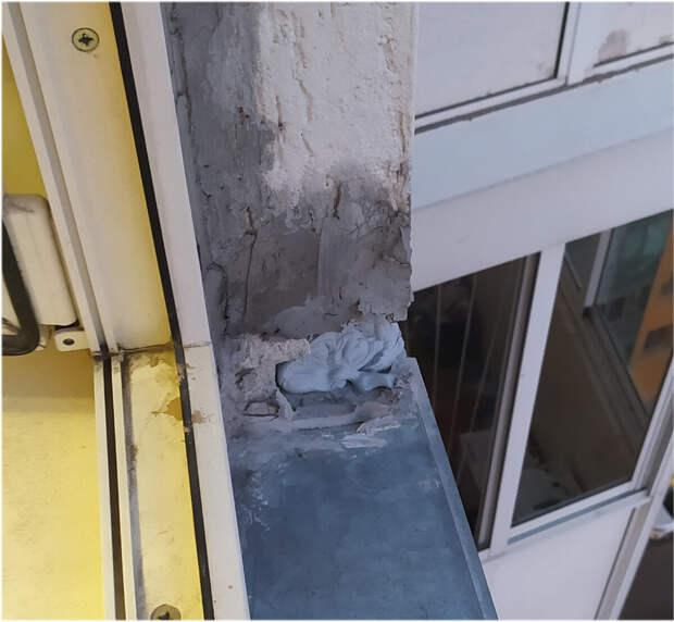 Фото Ондатры. Окно в моей квартире.