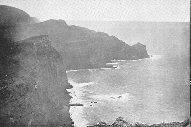 Таким фотографы позапрошлого века видели побережье одного из Оклендских островов