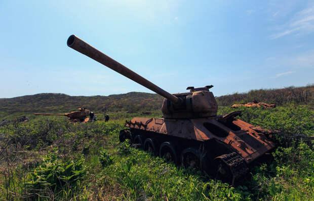 Остров погибших танков