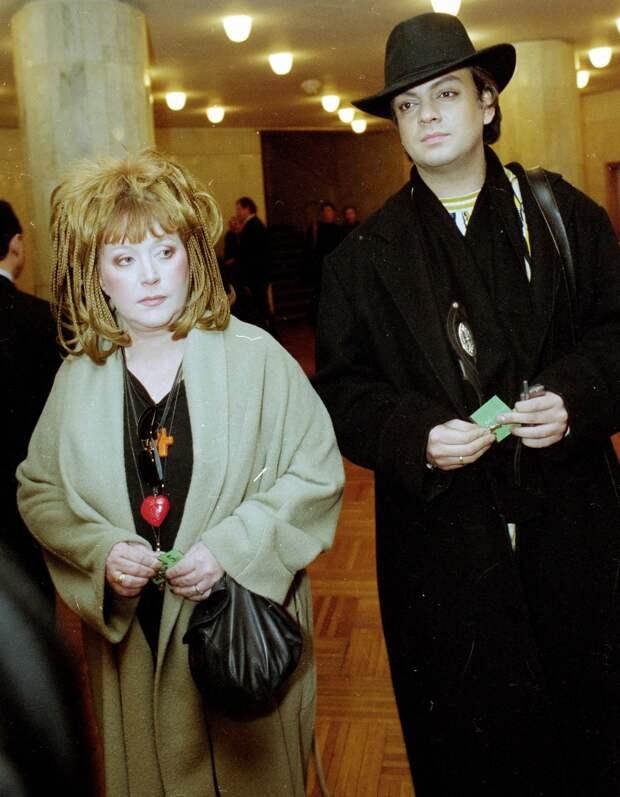 Как выглядели Филипп Киркоров и Алла Пугачева до свадьбы
