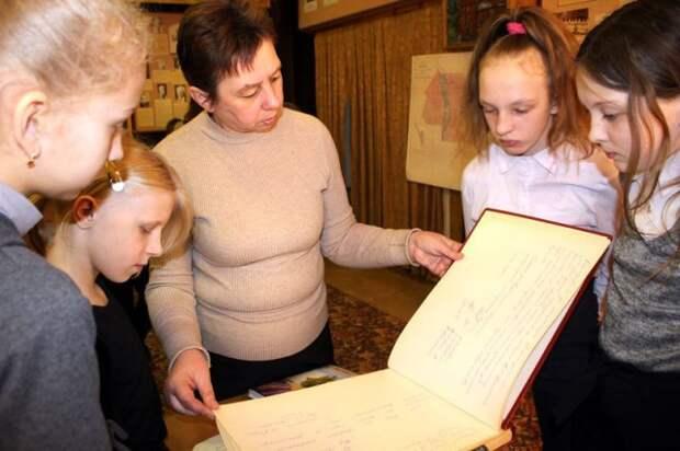 История малой родины - на экспозициях в музее.