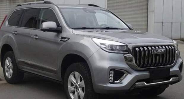 Haval H9 бросит новый вызов Land Cruiser Prado