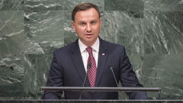 Совместная высадка десантников США и Польши вызвала гордость у Анджея Дуды