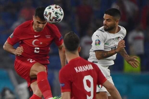 Сборная Италии уверенно обыграла Турцию в первом матче Евро-2020