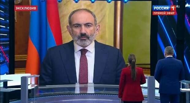 Пашинян обвинил Турцию в «подстрекательстве войны»
