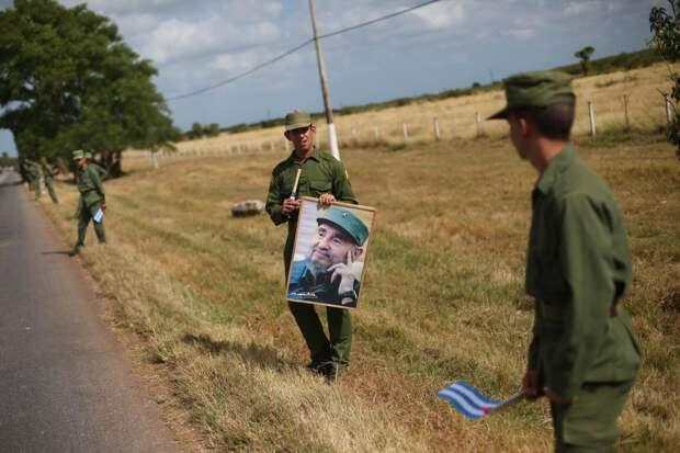 Кубинские солдаты
