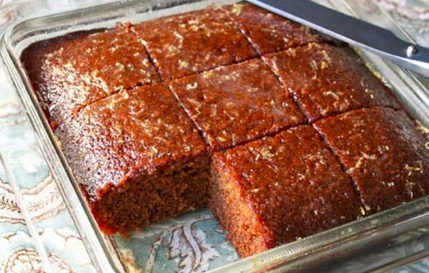Шоколадный кекс «Ленивец» — простой и вкусный