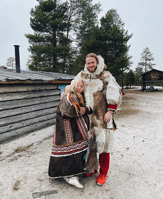 Мари Гончар и Иван Телегин