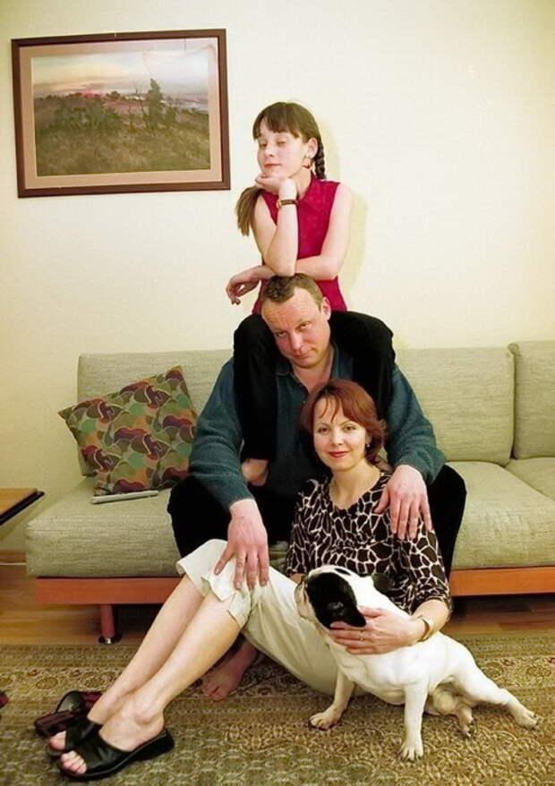 С дочерью Марией. / Фото: www.novanews.com.ua