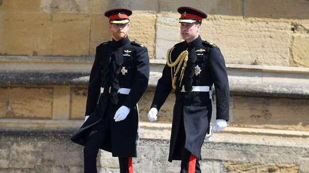 Принц Гарри и Уильям сделали первые шаги к возобновлению общения