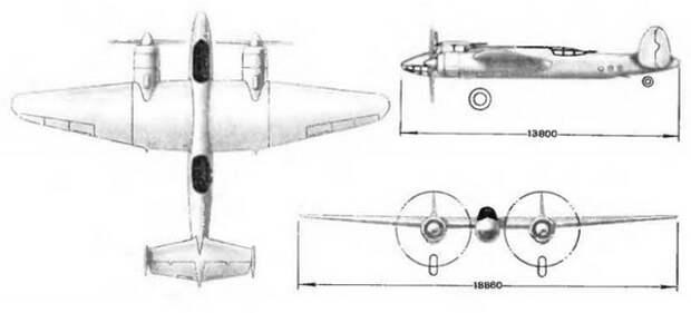 Самолет Ту-2, который не стал пикирующим бомбардировщиком