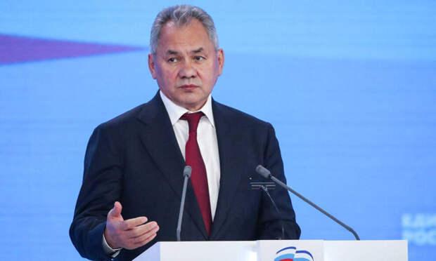 Шойгу во главе списка «Единой России»: преемников не жгут «на электоральном костре»