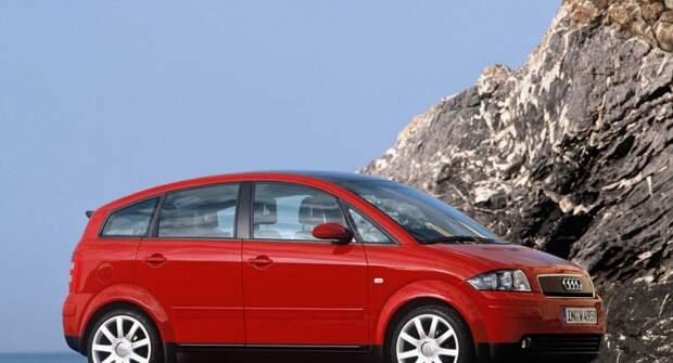 Audi A2: Самый младший в линейке бренда