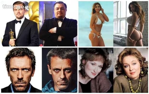 11 россиян, которых не отличишь от мировых звёзд