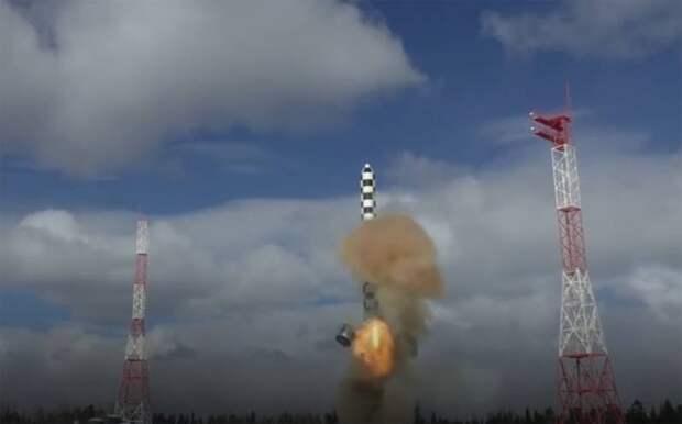 В зарубежной прессе: Российская ракета «Сармат» способна уничтожить всю Англию