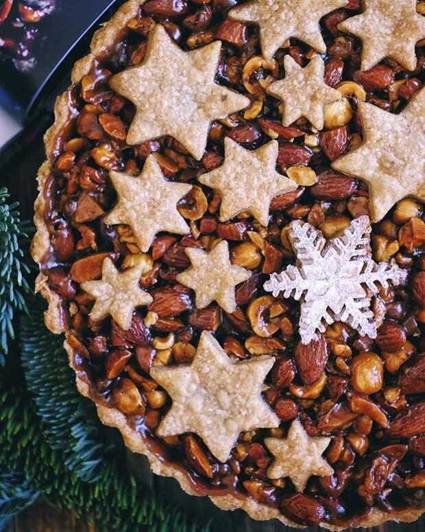 Подзарядка для мозга: готовим дома ореховый тарт