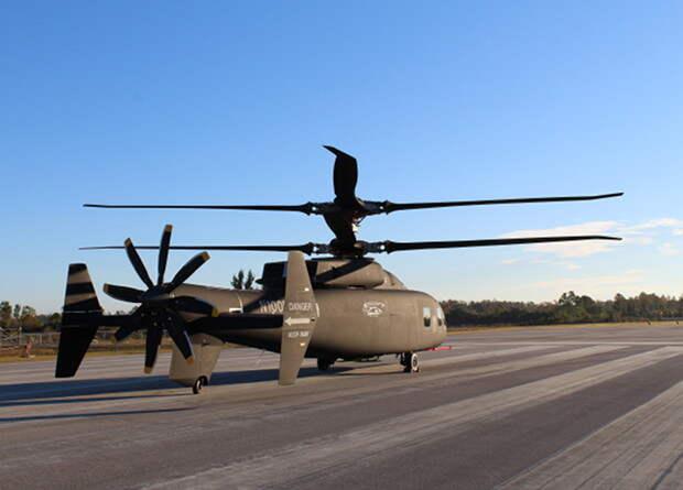 Sikorsky и Boeing показали скоростной многоцелевой вертолет