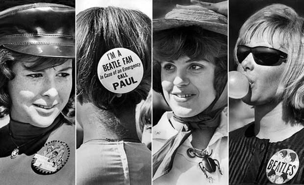 23 августа 1964г. Надпись *Я фанат Битлов. В случае необходимости экстренной помощи звоните Полу.*
