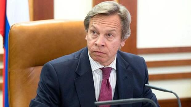 Пушков: дипломатическая война между РФ и США затихнет перед встречей Путина и Байдена