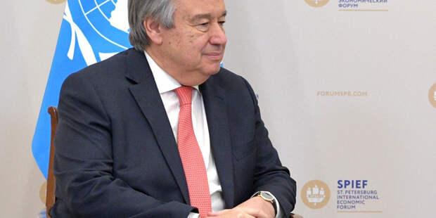 Генсек ООН призвал добиваться деэскалации конфликта между Палестиной и Израилем