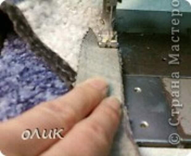 Мастер-класс Шитьё Домашние тапочки для себя и для гостей Кожа Мех Ткань фото 16