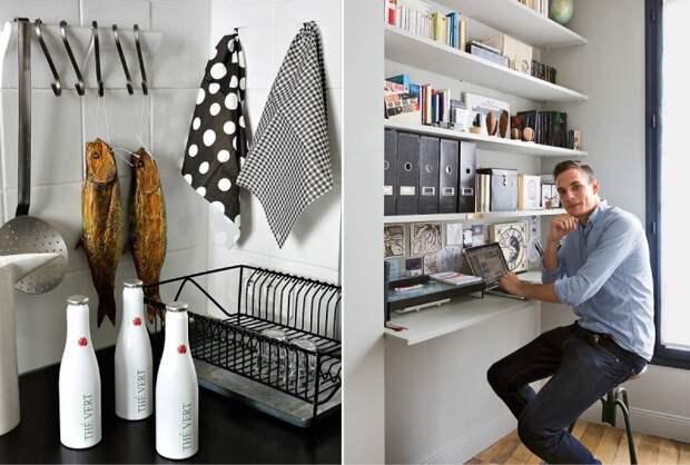 Лучшие идеи для экстремально маленьких кухонь, которые были подсмотрены у парижан