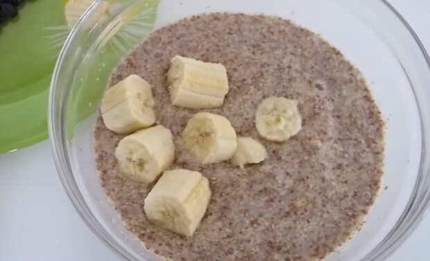каша из семян льна рецепт