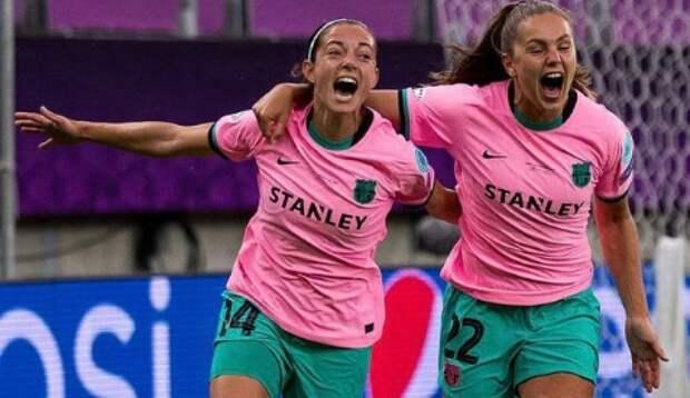 Футболистки «Барселоны» впервые в истории выиграли женскую Лигу чемпионов
