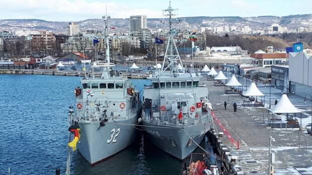 Учения противоминной группы кораблей НАТО стартовали на Балтике