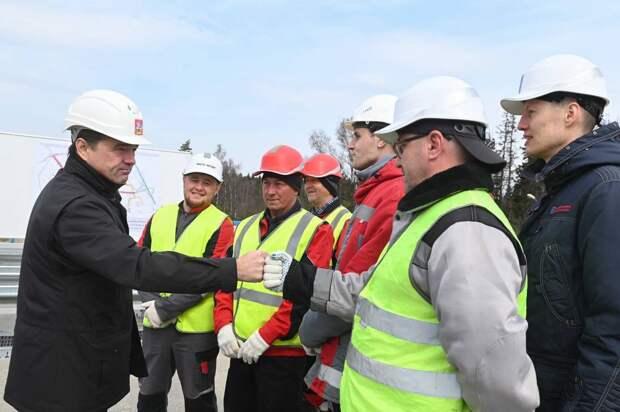 Новая развязка в Солнечногорске ускорит подъезд к парку «Есипово». Там работает завод Mercedes