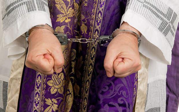 Небо наказало: священник-вор попал в ДТП